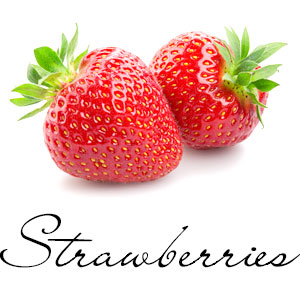 Strawberries are part of the Rosaceae family known scientifically as Fragaria ananassa. The fruit is widely appreciated for its characteristic aroma, bright red color, juicy texture, and sweetness. The seeds can grow to make new plants, but most strawberry plants instead reproduce by runners. There are 200 seeds in an average strawberry. Strawberries are the only fruit that wear their seeds on the outside. This fruit is very nutritious, high in vitamin C and can be served fresh or frozen and is known as a superfruit.